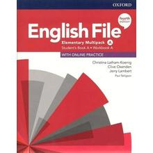 English File elementary Stud+Worb. Multipack A-4Ed.