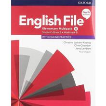 English File elementary Stud.+Worb. Multipack-B 4Ed.