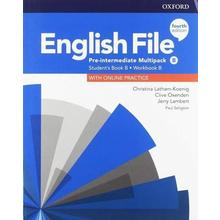 English File Pre-Interm. Stud.+Worb. Multipack -B 4Ed.