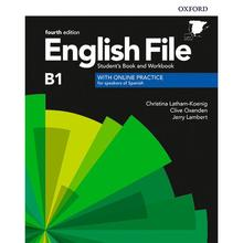 English File Intermediate B1 Stud.+Worb.WithKey 4Ed