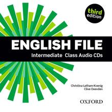 English File Intermediate Class Audio CDs (4) third edition