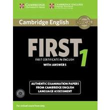 Cambridge English First 1 Students book + Cd With answers