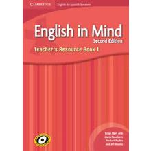 English in Mind 1 Teacher`s Resource Book 2Edit.